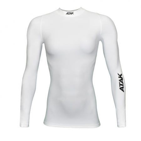 Atak Long Sleeve White fit