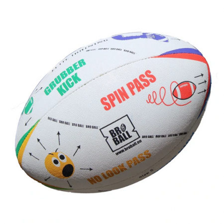 BroBall Skills Rugby Ball