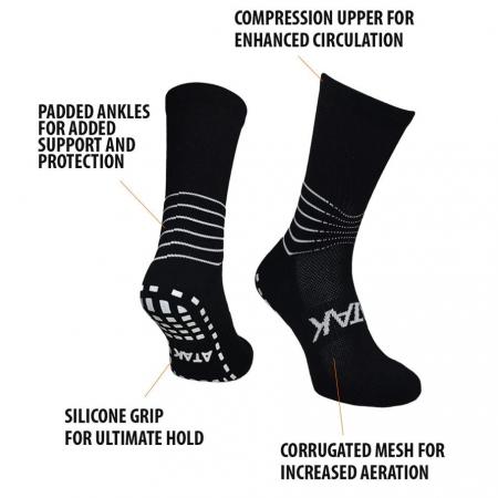 C-Grip Socks Black Details