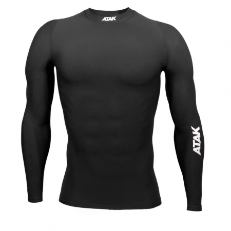 Compression top black Long