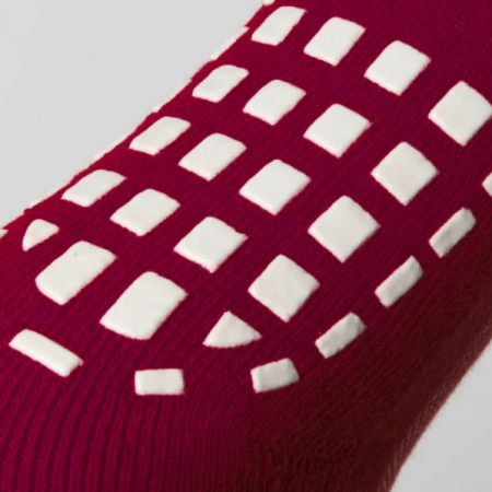 Grip Socks Sole Maroon