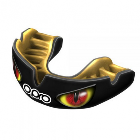 Opro Mouth Guard Eyes Red