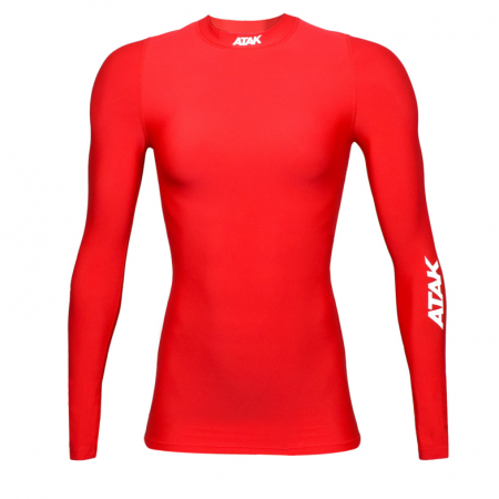 Red female Compression top