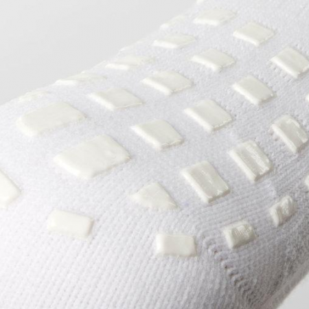 SHOX Mid-Leg Grip Socks White 1