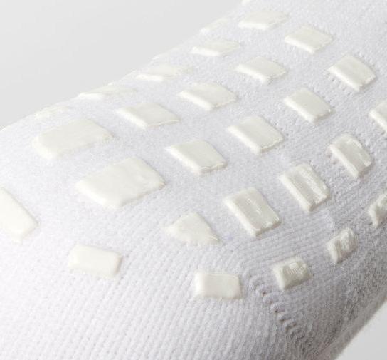 SHOX Mid-Leg Grip Socks White 1