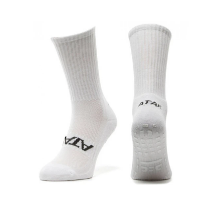 SHOX Mid-Leg Grip Socks White