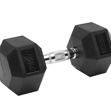 17.5kg Hexagon Dumbbell