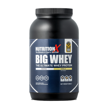 NutritionX Big Whey Vanilla 900g