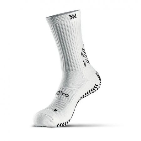 SOXPro Classic Grip Sock White