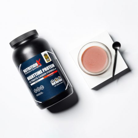 nightime casein strawberry