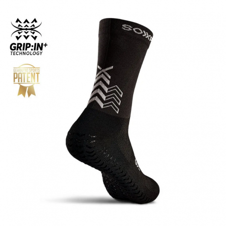 SOXPro Grip sock UltraLight Black Side
