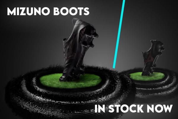 Mizuno boots-mobile